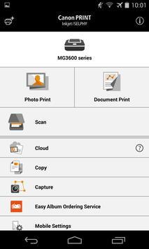 Canon PRINT Inkjet/SELPHY poster