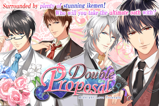 Free Otome Games : Double Proposal screenshot 2