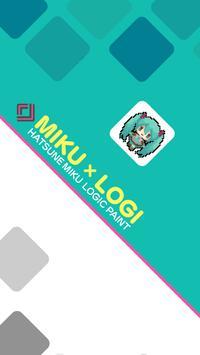 Hatsune Miku Logic Paint poster