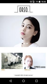 美容室・ヘアサロン OREO.(オレオ)公式アプリ poster