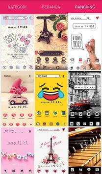 Wallpaper Tema +HOME Launcher screenshot 4