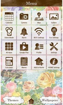 Pastel Flowers Wallpaper Theme screenshot 1