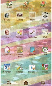 Pastel Flowers Wallpaper Theme screenshot 2