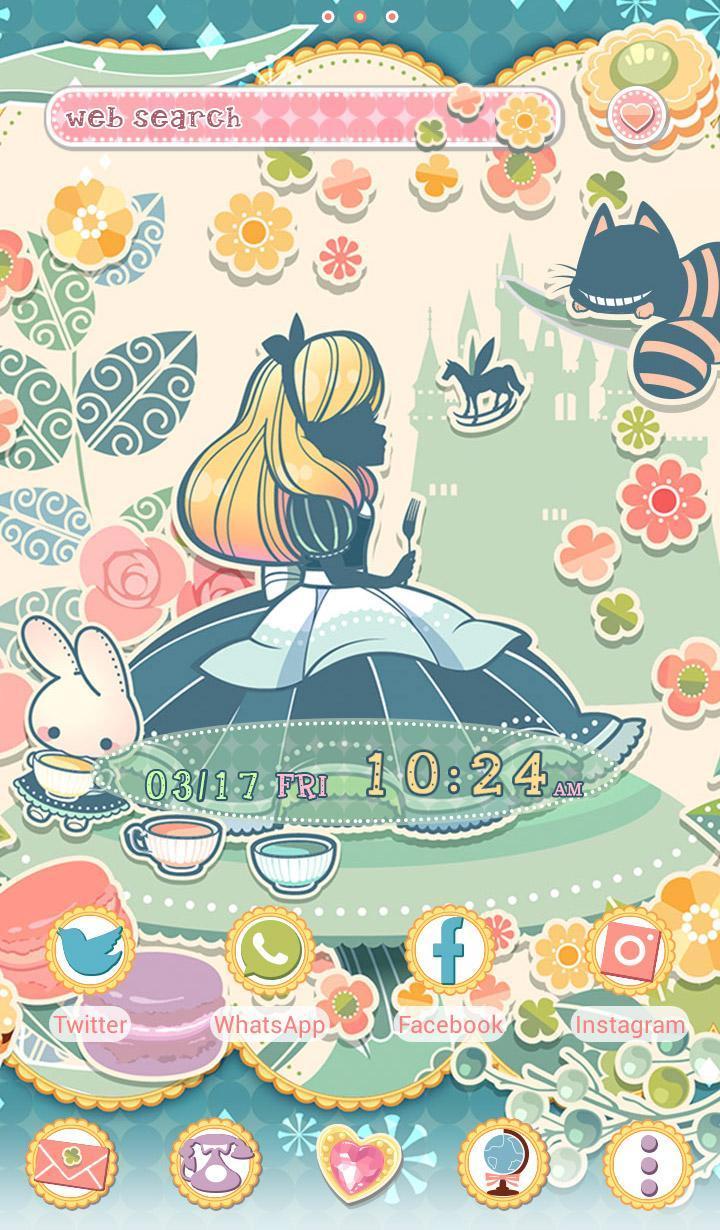 Android 用の アリスとお菓子の国 壁紙 Apk をダウンロード