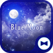Fantasy Wallpaper Blue Moon Theme