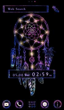 Stylish  Wallpaper Galaxy Dreamcatcher Tema poster