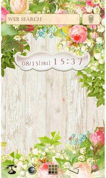 Flower Wallpaper Secret Garden poster