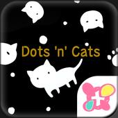 Temas gratuitos★Dots 'n' Cats icono
