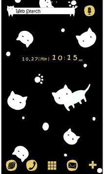 Cute Wallpaper Dots 'n' Cats الملصق