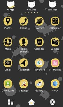 Cute Wallpaper Dots 'n' Cats تصوير الشاشة 2