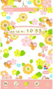 Flower Flow Wallpaper Theme poster