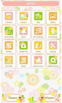 Flower Flow Wallpaper Theme screenshot 1