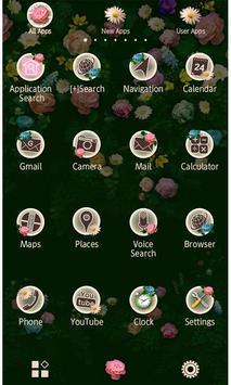 Classy Theme-Roses in Bloom- captura de pantalla 1