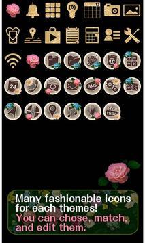 Classy Theme-Roses in Bloom- captura de pantalla 3