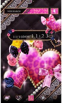 Sparkling Heart Wallpaper poster
