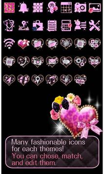 ★FREE THEMES★Sparkling Heart تصوير الشاشة 3
