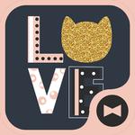 Cute Wallpaper LOVE CAT Theme APK
