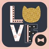 壁纸·图标 LOVE CAT 图标
