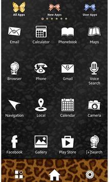 Flowers & Leopard Wallpaper screenshot 1