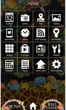 Flowers & Leopard Wallpaper screenshot 2