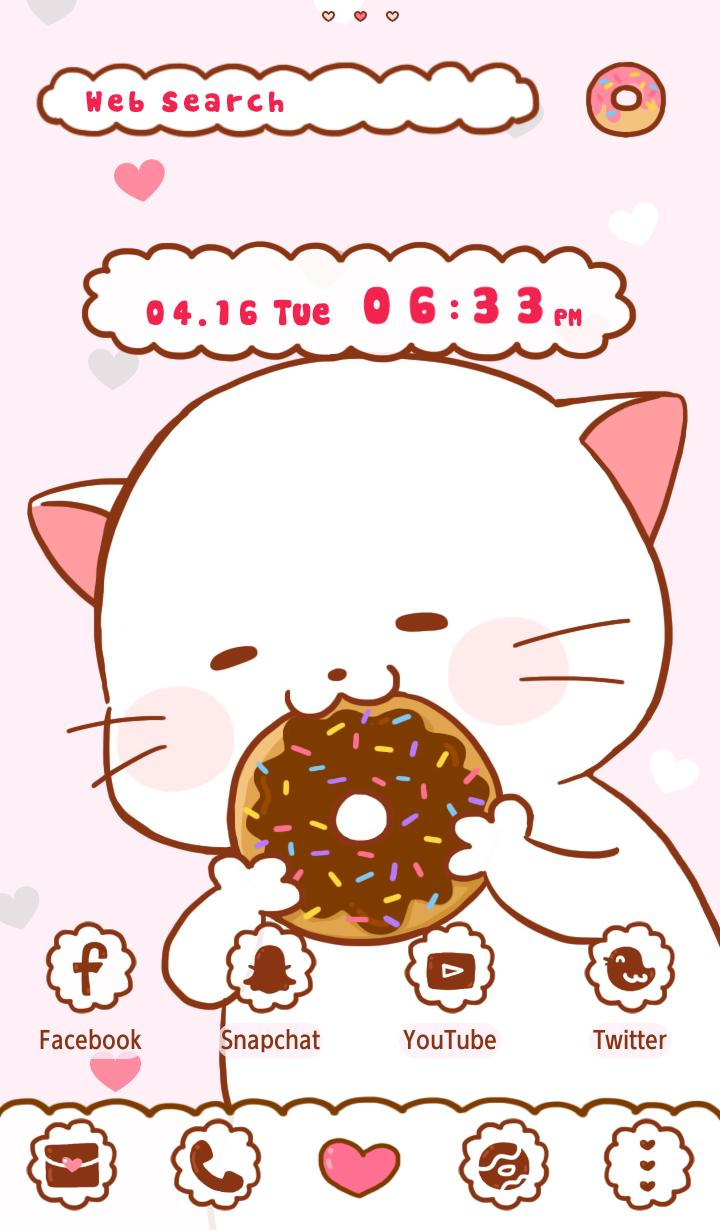 Cute Wallpaper Furry Cat Theme poster