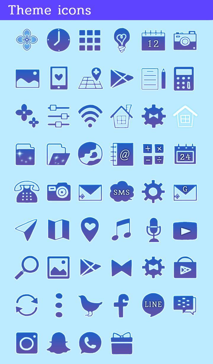 壁纸 图标水色紫阳花安卓下载 安卓版apk 免费下载