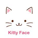 Cute Theme-Kitty Face- APK