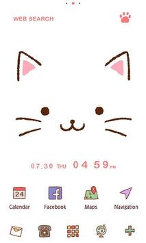 Cute Theme-Kitty Face- poster