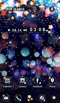 キラキラ星の壁紙 Sparkle スクリーンショット 4