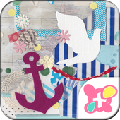 Blue Theme-Summer Holiday- icon
