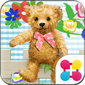 Bear Theme Picnic with Teddy icon