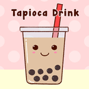 Cute Wallpaper Tapioca Drink Tema APK