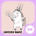 Cute Wallpaper Unicorn Magic Theme