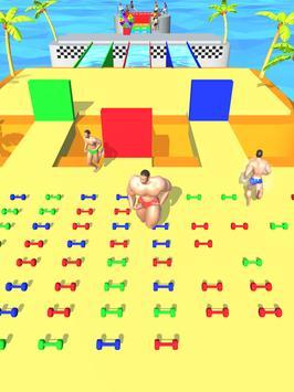 Muscle Race 3D screenshot 4