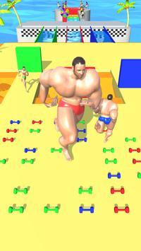 Muscle Race 3D screenshot 2