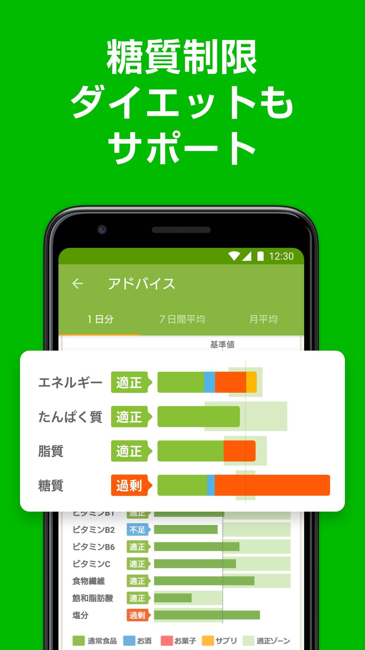 アプリ カロリー 計算