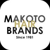 『MAKOTO HAIR BRANDS』公式アプリ icon