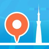 行き方案内 icon