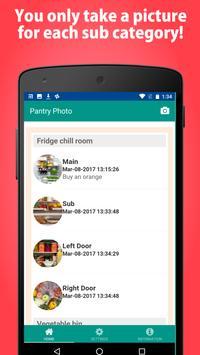 Pantry Photo-Fridge manage app screenshot 1