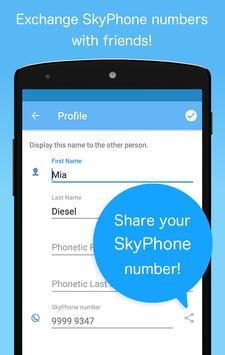 SkyPhone imagem de tela 2