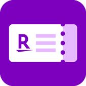 楽天チケットアプリ icon