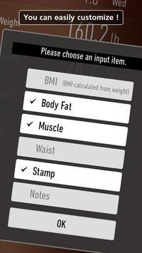 Weight Loss Tracker - RecStyle capture d'écran 2