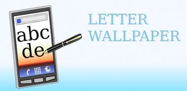 Letter Wallpaper Free