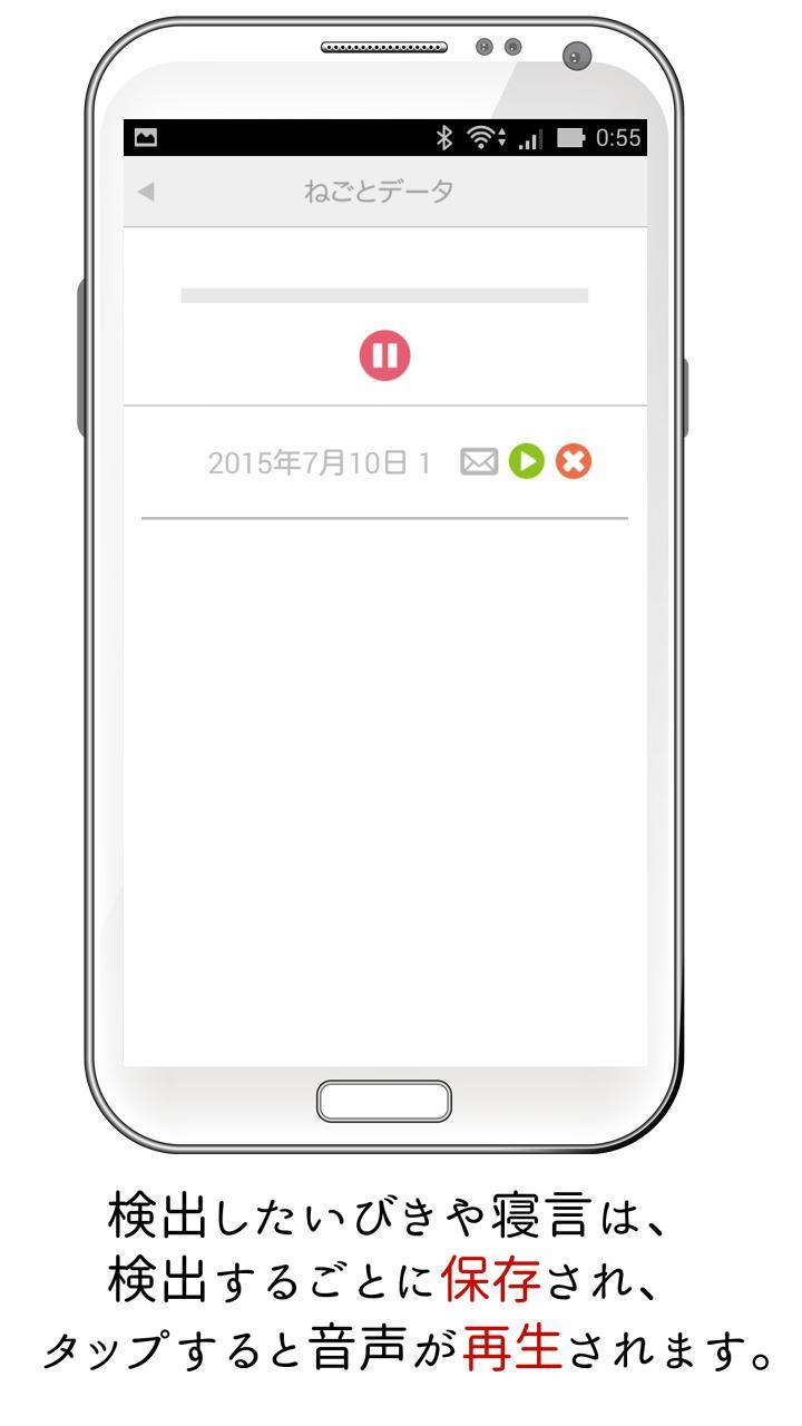 寝言 録音 アプリ