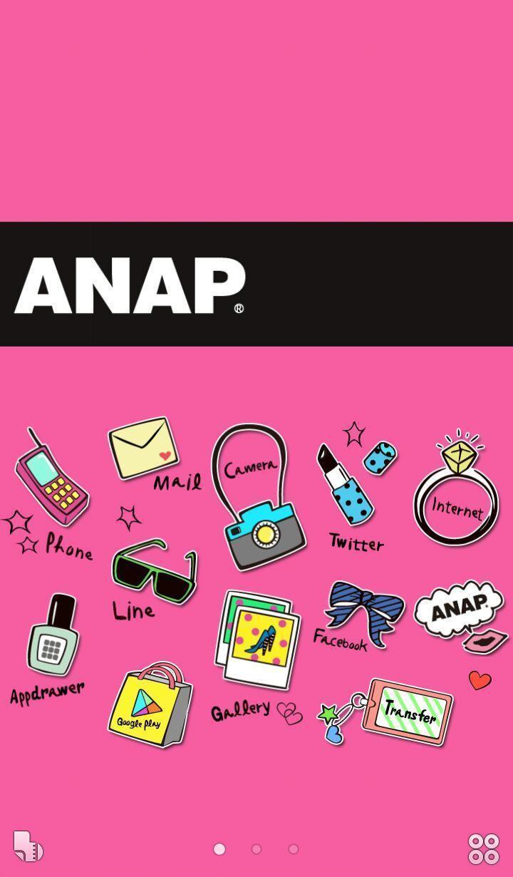 Anapピンク かわいい壁紙きせかえ Para Android Apk Baixar