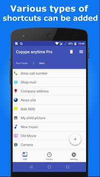 Copy&Paste & Memo&Launcher pro screenshot 3