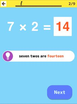 Multiplication Table Practice screenshot 14