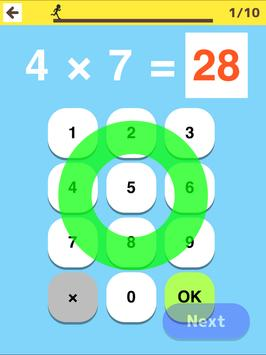 Multiplication Table Practice screenshot 16
