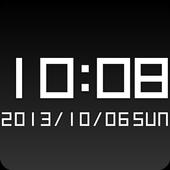 Boxy clock widget -Me Clock icon