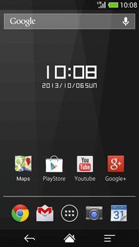 Boxy clock widget -Me Clock screenshot 1